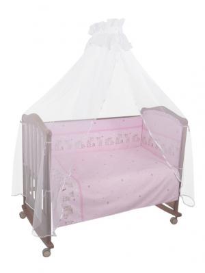 Комплект Оленята 7 предметов Тайна снов. Цвет: розовый