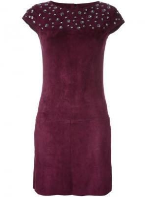 Платье Robestone Jitrois. Цвет: красный