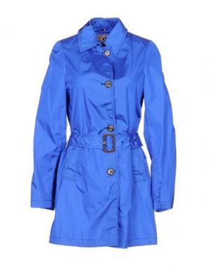 Легкое пальто SEALUP. Цвет: ярко-синий