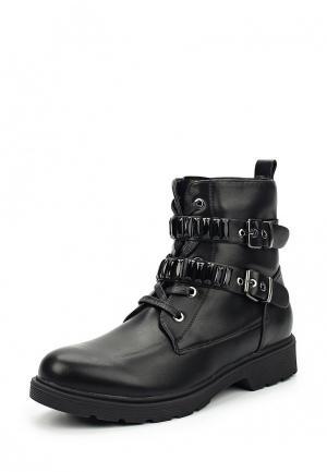 Ботинки Zona3. Цвет: черный