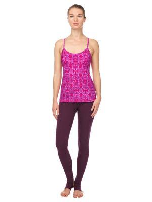 Майка Ultra Lilac Urban Yoga. Цвет: темно-фиолетовый