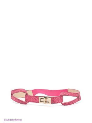 Пояс MONDIGO. Цвет: розовый