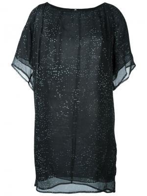 Платье Eon Minimarket. Цвет: чёрный