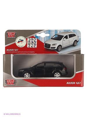 Машина Технопарк металлическая инерционная audi q7. Цвет: черный
