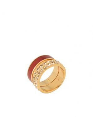 Кольцо CA&LOU. Цвет: красно-коричневый