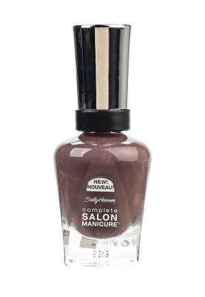 Лак для ногтей Sally Hansen. Цвет: коричневый
