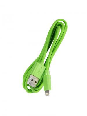 Дата-кабель Lightning IQ Format. Цвет: зеленый