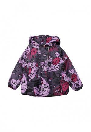 Куртка утепленная Lassie. Цвет: фиолетовый