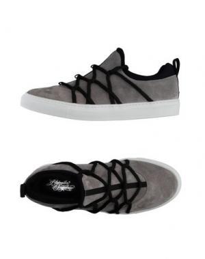 Низкие кеды и кроссовки ALEJANDRO INGELMO. Цвет: серый