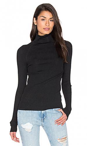 Свитер из кашемира с высоким воротом chi 360 Sweater. Цвет: черный