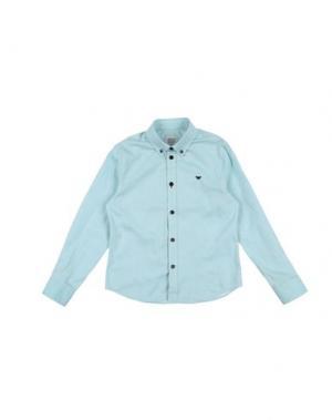 Pубашка ARMANI JUNIOR. Цвет: светло-зеленый