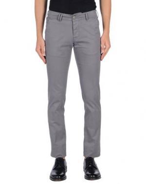 Повседневные брюки CYCLE. Цвет: серый