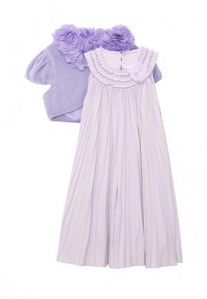 Платье Perlitta. Цвет: фиолетовый