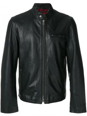 Куртка на молнии Munderingskompagniet. Цвет: чёрный