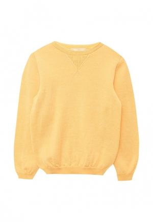 Джемпер R&I. Цвет: желтый