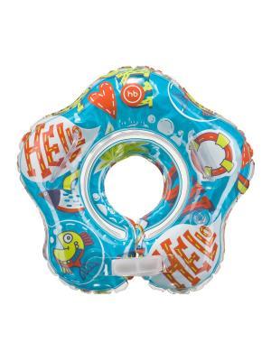 Музыкальный круг для плавания DOLFY Happy Baby. Цвет: синий, красный, желтый, белый