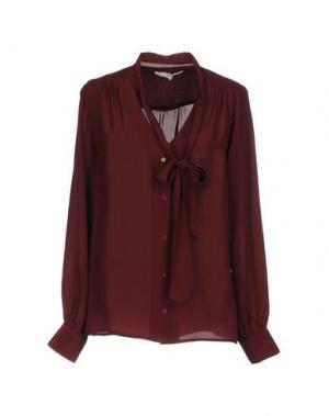 Pубашка FALCON & BLOOM. Цвет: красно-коричневый