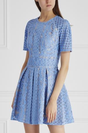 Платье Lover. Цвет: голубой