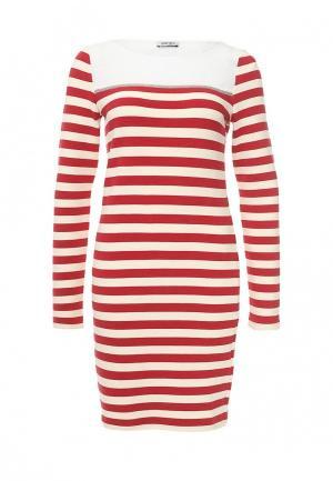 Платье Liu Jo Jeans. Цвет: красный