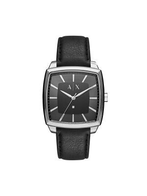 Часы Armani Exchange. Цвет: черный,серебристый