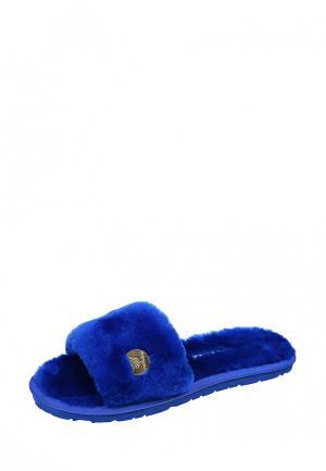 Тапочки Marissimo. Цвет: синий