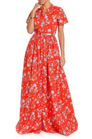 Платье Alexander Terekhov. Цвет: красный