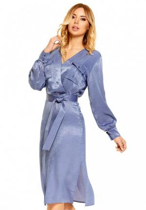 Платье SoloU. Цвет: голубой