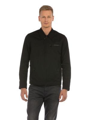 Куртка Colin's. Цвет: черный, коричневый