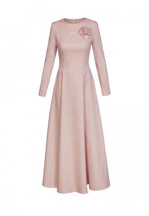 Платье Bella Kareema. Цвет: коралловый
