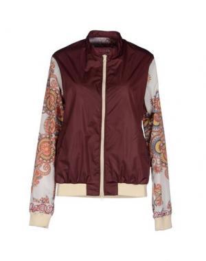 Куртка FIFTEEN AND HALF. Цвет: баклажанный