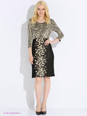 Платье M.Rena. Цвет: серый