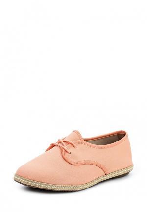 Ботинки Moleca. Цвет: коралловый