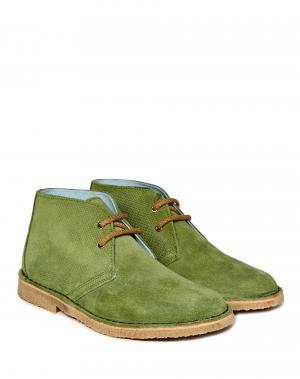 Ботинки Benetton. Цвет: зеленый