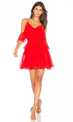Платье addicted to love Yumi Kim. Цвет: красный