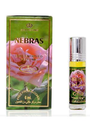 Арабские масляные духи Нэбрас (Nebras), 6 мл Al Rehab. Цвет: зеленый, розовый