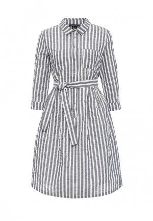 Платье Cortefiel. Цвет: серый