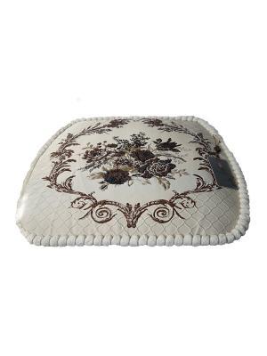 Сидушки, Подушка для стула Гобелен Медальон, 45х45см KAZANOV.A.. Цвет: бежевый