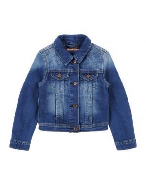Джинсовая верхняя одежда SCOTCH R'BELLE. Цвет: синий