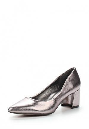 Туфли Sweet Shoes. Цвет: серебряный