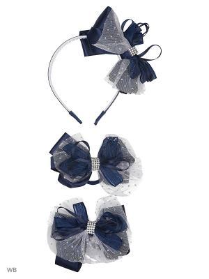 Набор аксессуаров для волос Baby Steen. Цвет: синий