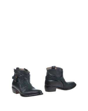 Полусапоги и высокие ботинки LENA MILOS. Цвет: темно-зеленый