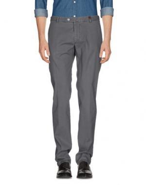 Повседневные брюки GIO ZUBON. Цвет: серый