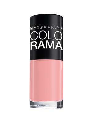 Лак для ногтей Colorama, оттенок 314, Лепесток розы, 7 мл Maybelline New York. Цвет: розовый