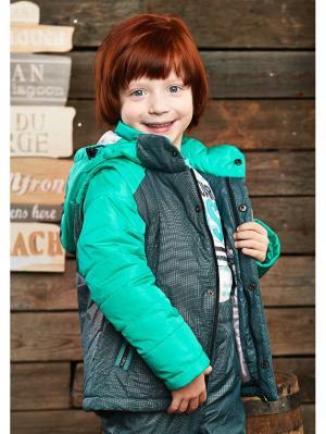 Куртка-трасформер I love to dream. Цвет: зеленый