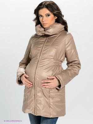 Куртка Mamita. Цвет: бежевый