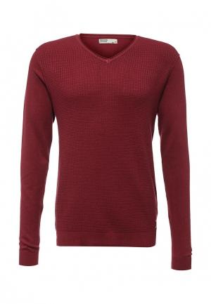 Пуловер E-Bound. Цвет: бордовый