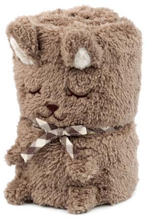 Одеяло-игрушка Зайка HOME LUX. Цвет: капучино