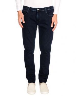 Джинсовые брюки PT05. Цвет: синий