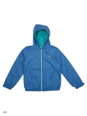 Куртка Sisley Young. Цвет: голубой
