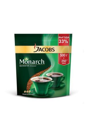 Кофе растворимый Jacobs Monarch 500гр. Цвет: черный